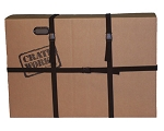 CRATEWORKS - Pro 1 Cardboard Bike Shipping Box