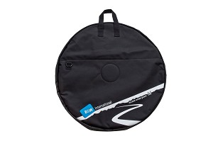 B&W Double Wheel Bag Medium Black