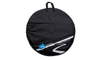 B&W Double Wheel Bag Large Black